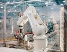 ABB robots at ABB SACE in Frosinone, Italy